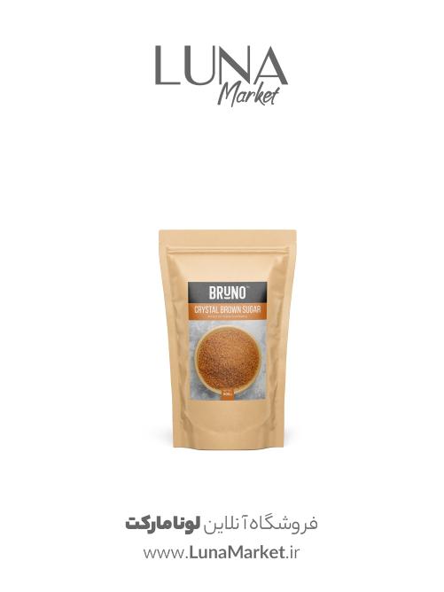 شکر قهوهای کریستال برونو